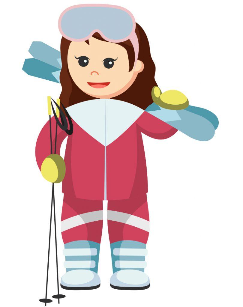 Ski alpin Entraîneur Image